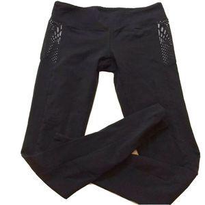 JO + JAX Dancewear Athletic Mesh Cutout Leggings